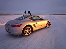 Pilotando en Laponia.