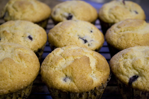 Bakery Blueberry Muffins Recipe