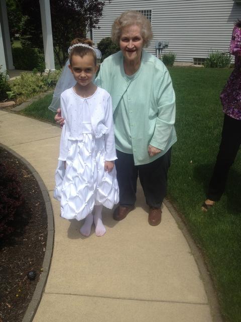 Karli & Great Grandma