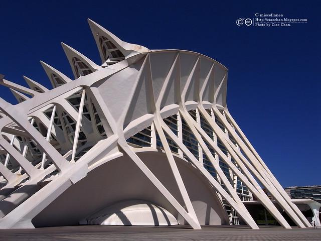Hola Valencia~瓦倫西亞。藝術科學城 Ciudad de las Artes y las Ciencias     R1043403