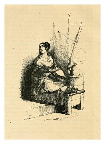 014-La castañera-Los españoles pintados por si mismos-Tomo I-1843- Editado por Ignacio Boix