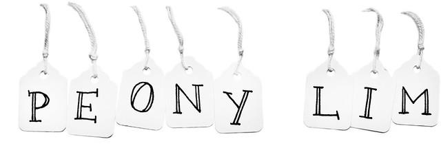 Labels Peony Lim