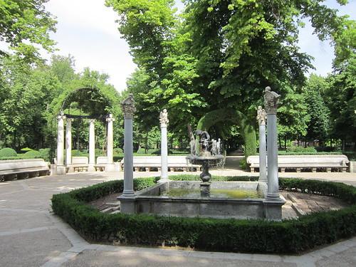 島の庭園の噴水/アランフェス王宮 2012年6月2日 by Poran111