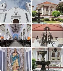 Iglesia San Juan Bautista y Plaza Central