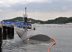 YOKOSUKA, Japan (June 29, 2012) The Los Angeles-class fast attack submarine USS Chicago (SSN 721) is moored at Fleet Activities Yokosuka. (U.S. Navy photo by Mass Communications Specialist 1st Class David Mercil)