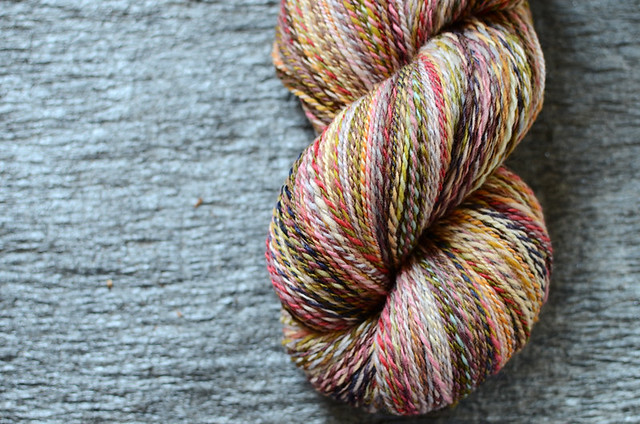 Handspun Patchwork Yarn