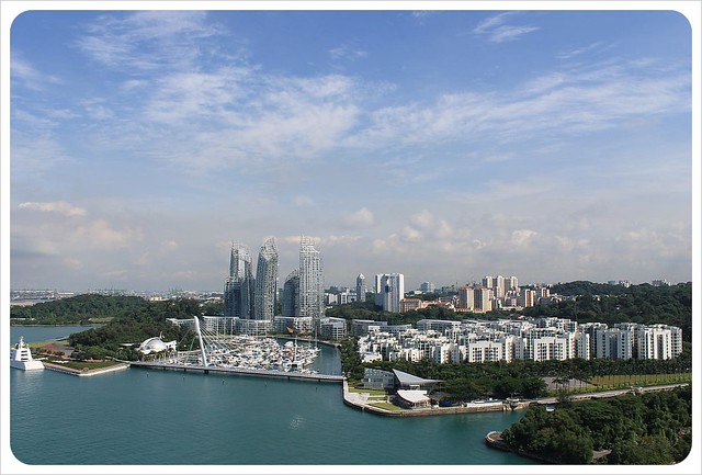 singapore cable car views