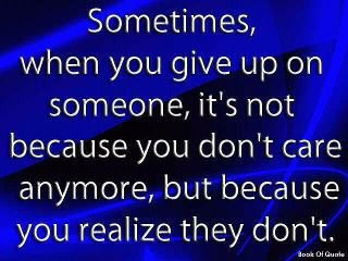Nogen gange...