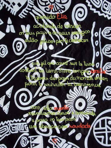 Elie's blanket