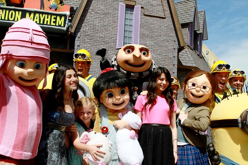 Despicable Me Grand Opening
