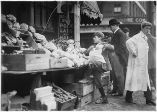In business for himself. Boston, Mass, October 1909