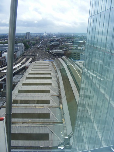 London Bridge Station from the Shard