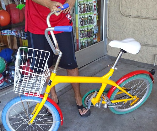 Stolen Google Bikes
