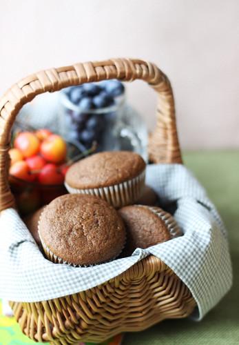 Cocoa Courgette Muffins