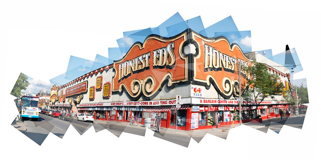 Honest Ed's is a puzzle