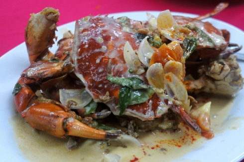 Little XiGong Crabs in Coconut Gravy