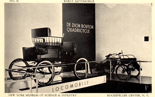 Early Automobile - New York Museum of Science & Industry - Rockefeller Center, N.Y.