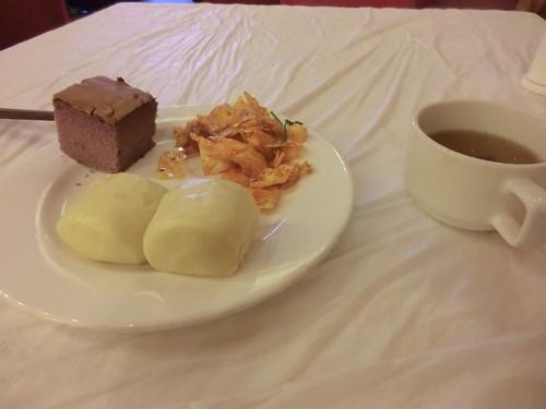 九寨溝・千鶴国際大酒店の朝食