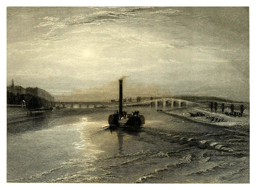 031- Confluencia del Sena y el Marne-Wanderings by the Seine from Rouen to the source 1835- Joseph Mallord W.Turner