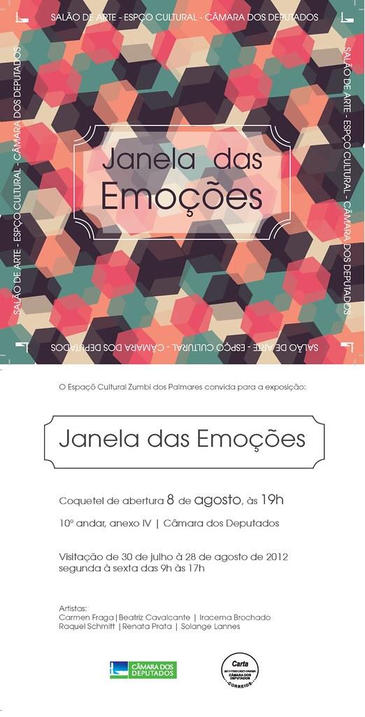JANELA DAS EMOÇÕES AGO/2012 - CONVITE OFICIAL