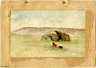Osage Wickiup, Okla. (Coll. no. 2012.025)
