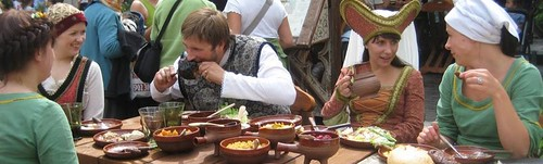 food in Middle Ages by Anna Amnell