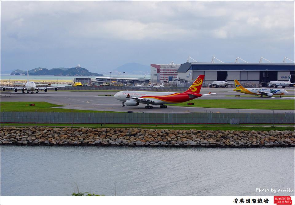 Hong Kong Airlines / B-LNW / Hong Kong International Airport