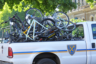 Stolen bikes at drug bust in Old Town-14