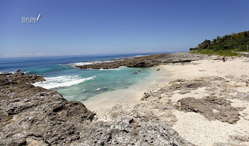 厚石裙礁上的小缺口