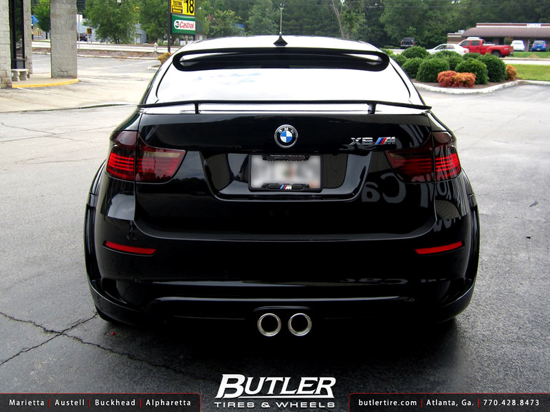 BMW X6M with 22in DUB Type 39 Wheels and Hamann Tycoon Widebody Kit