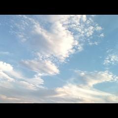 【写真】いい空と雲が撮れました! I was able to take a good sky and clouds! #雲 #cloud  #空 #sky #イマソラ