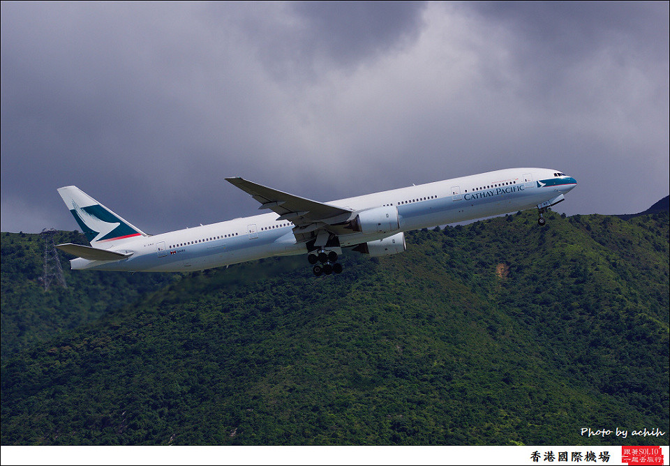 Cathay Pacific Airways / B-HNO / Hong Kong International Airport