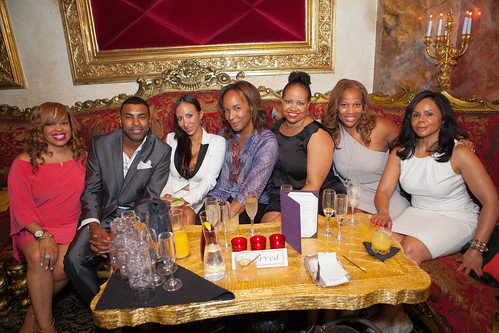 party guests, including Ginuwine and his wife Tonya, and Paul Wharton by Alfredo Flores