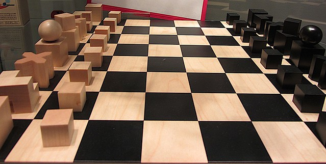 Bauhaus chess flickr photo sharing - Bauhaus chess board ...