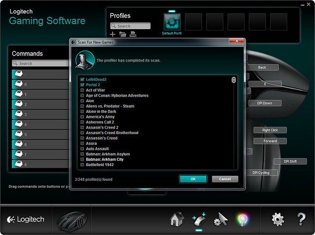 Logitech Gaming Software - 248 Games Profile Supported