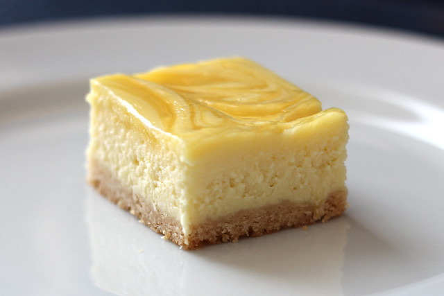 lemon cheesecake square | Flickr - Photo Sharing!