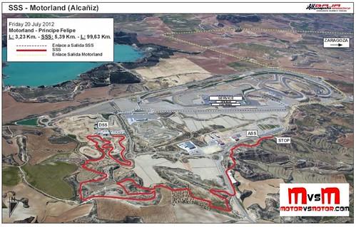 Etapa Prologo Baja España Aragón 2012 Baja Spain