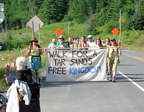 We Are the Kalamazoo Event in Northeast Kingdom, VT July 2012 Credit: Tar Sands Free Northeast