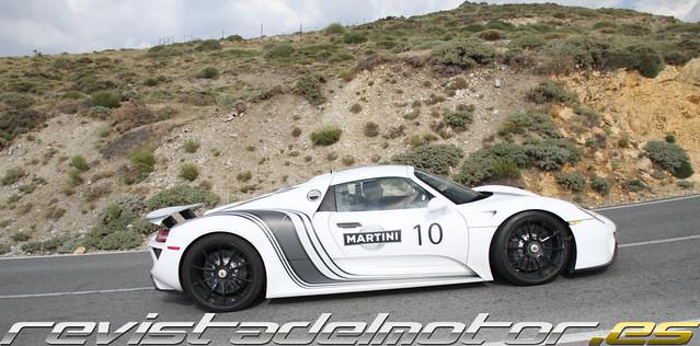 Porsche 918 Spyder Prototipo
