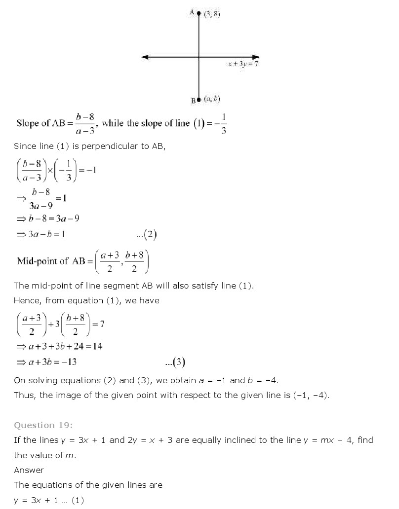NCERT 11 Maths Solution Free PDF Download