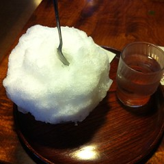 かき氷。みぞれ
