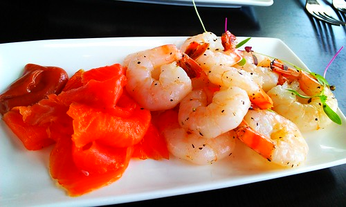 Prawns for lunch at Level 33, Marina Bay Financial Centre by monchichi10