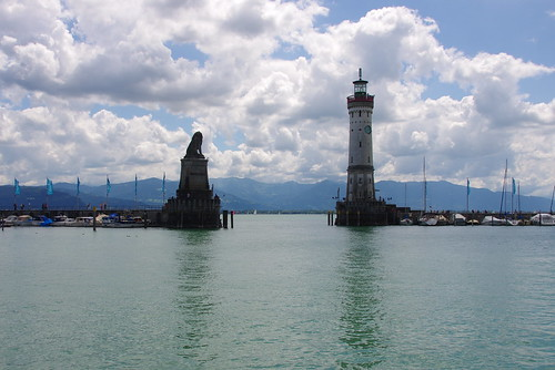The lion and the lighthouse (Lindau)