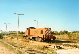 Diesel Loco - Lagos - 1986
