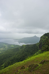 View from Chota Chowk Point - Matheran