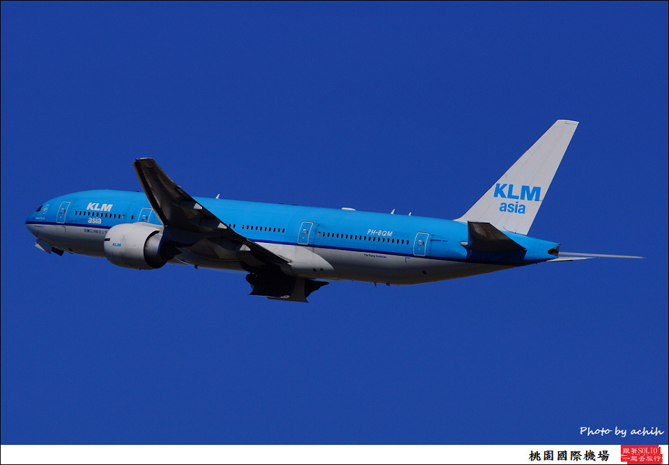 KLM Asia / PH-BQM / Taiwan Taoyuan International Airport