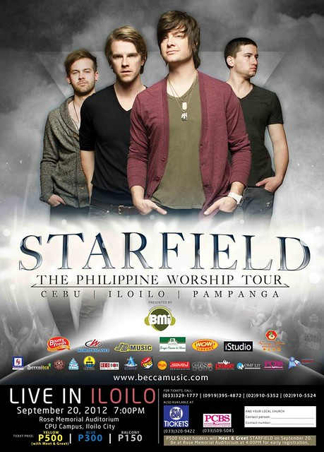 Starfield performs Live in Iloilo