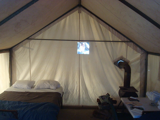 Tent Cabin At Tuolumne Meadows Flickr Photo Sharing