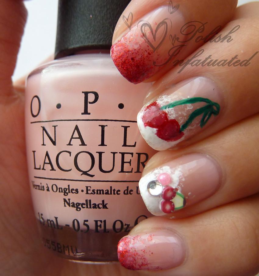 cherry nail art2