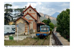 Digne. Old narrow gauge station. 24.8.13
